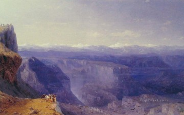 Mountain Painting - Ivan Aivazovsky the caucasus mountain