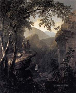Kindred Spirits landscape Asher Brown Durand Mountain Oil Paintings