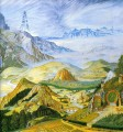 garlands of fantasy middle earth tolkiens landscape 2 Mountain