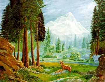 mountain 20 Oil Paintings