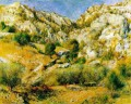 rocky craigs at lestaque Pierre Auguste Renoir Mountain