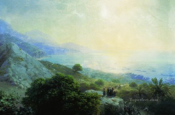 Mountain Painting - Ivan Aivazovsky crete mountain