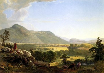 row works - Dover Plain landscape Asher Brown Durand Mountain