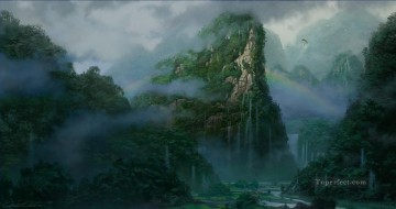 Mountain Painting - dream world Chinese mountain