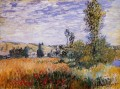 Landscape at Vetheuil Claude Monet