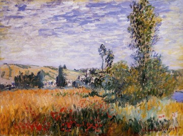 Landscape at Vetheuil Claude Monet Oil Paintings
