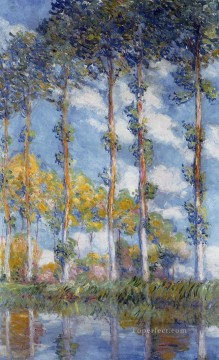 POP Works - Poplars Claude Monet scenery
