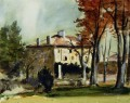 The Manor House at Jas de Bouffan Paul Cezanne scenery