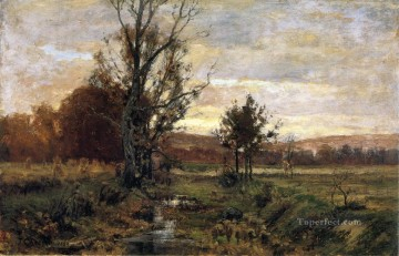 indiana - A Bleak Day Impressionist Indiana landscapes Theodore Clement Steele