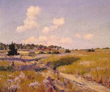 impressionism landscape Painting - Afternoon Shadows impressionism landscape William Merritt Chase