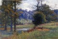 Along the Creek aka Zionsville Impressionist Indiana landscapes Theodore Clement Steele