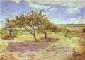 Apple Trees in Blossom Post Impressionism Primitivism Paul Gauguin scenery