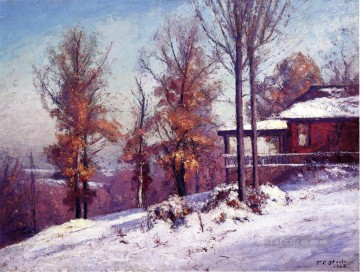 impressionist - House of the Singing Winds Impressionist Indiana landscapes Theodore Clement Steele