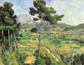 Landscape with viaduct Montagne Sainte Victoire Paul Cezanne