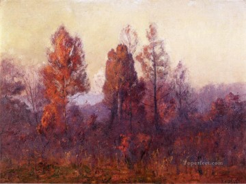 Last Hour of the Day Impressionist Indiana landscapes Theodore Clement Steele Oil Paintings