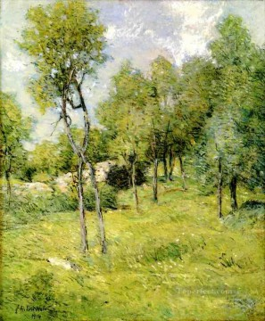 Midsummer Landscape impressionist Julian Alden Weir Oil Paintings
