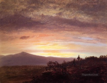 Mount Ktaadn scenery Hudson River Frederic Edwin Church Oil Paintings