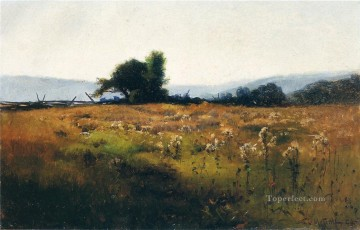 Mountain View from High Field scenery Willard Leroy Metcalf Oil Paintings