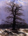 Oak In The Snow Romantic landscape Caspar David Friedrich