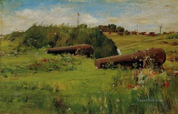Peace Fort Hamilton impressionism William Merritt Chase scenery Oil Paintings