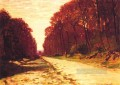 Road in a Forest Claude Monet scenery