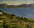 Sea at L Estaque Paul Cezanne scenery