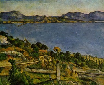 Sea at L Estaque Paul Cezanne scenery Oil Paintings