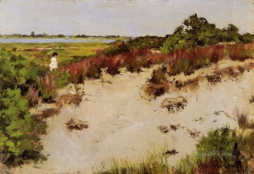 Shinnecock Landscape impressionism William Merritt Chase Oil Paintings