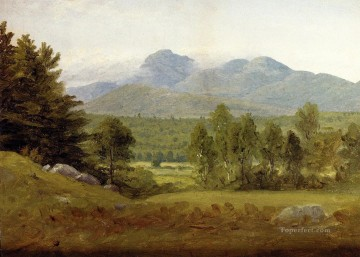 Sketch of Mount Chocorua New Hampshire scenery Sanford Robinson Gifford Oil Paintings