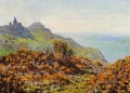 The Church at Varengeville and the Gorge of Les Moutiers Claude Monet scenery