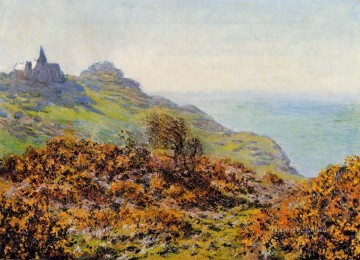 The Church at Varengeville and the Gorge of Les Moutiers Claude Monet scenery Oil Paintings