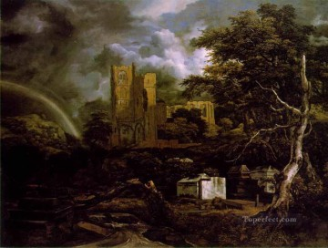 The Jewish Cemetary 2 landscape Jacob Isaakszoon van Ruisdael Oil Paintings
