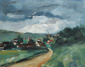 VALMONDOIS Maurice de Vlaminck plan scenes landscape Oil Paintings