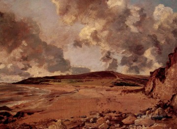 Weymouth Bay Romantic landscape John Constable Oil Paintings