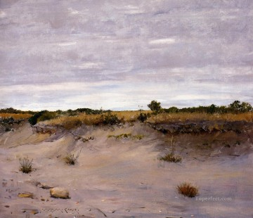 william - Wind Swept Sands Shinnecock Long Island impressionism William Merritt Chase scenery