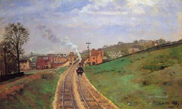 lordship lane station dulwich 1871 Camille Pissarro scenery Oil Paintings