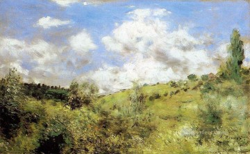 Pierre Works - the gust of wind Pierre Auguste Renoir scenery