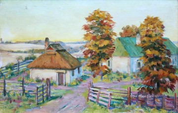 ukrainian landscape Konstantin Yuon plan scenes Oil Paintings