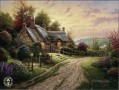A Peaceful Time Thomas Kinkade scenery