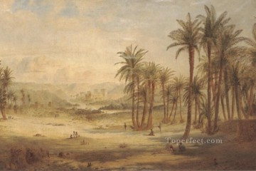 A View of Philae landscape Edward Lear Oil Paintings