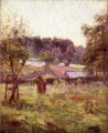 At Noon Day Impressionist Indiana landscapes Theodore Clement Steele