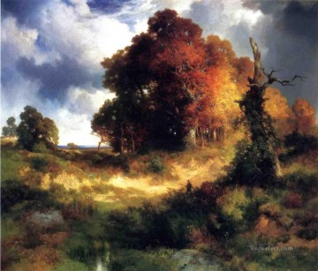 Autumn landscape Thomas Moran Oil Paintings