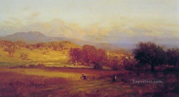 Autumn landscape Tonalist George Inness Oil Paintings