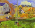 Breton Landscape The Moulin David Post Impressionism Primitivism Paul Gauguin