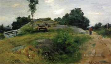 Connecticut Scene impressionist landscape Julian Alden Weir Oil Paintings