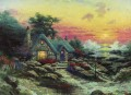 Cottage By The Sea Thomas Kinkade scenery