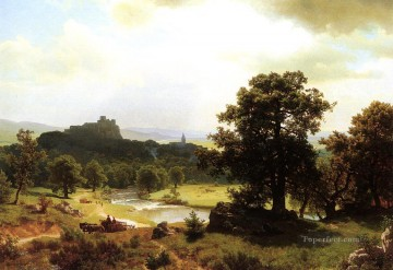 Days Beginning Albert Bierstadt Oil Paintings
