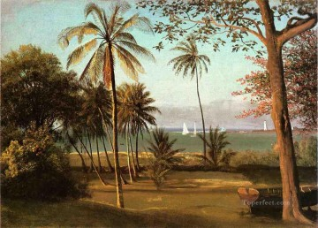 Florida Scene Albert Bierstadt Oil Paintings