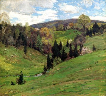 Flying Shadows2 scenery Willard Leroy Metcalf Oil Paintings