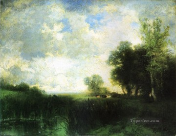 Lowery Day landscape Thomas Moran Oil Paintings